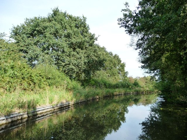 The Stourbridge canal and the Monarch's Way