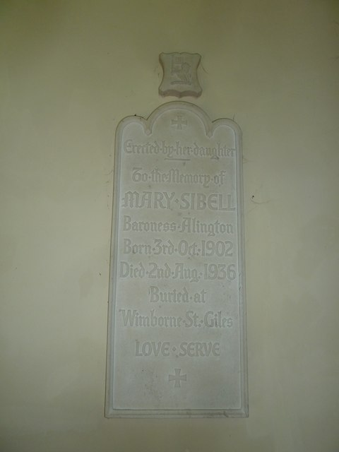 St Mary, St Cuthberga and All Saints, Witchampton- memorial (8)