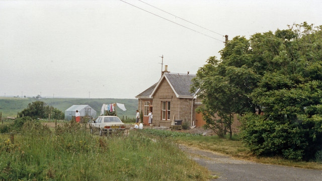 Cruden Bay station (remains), 1988