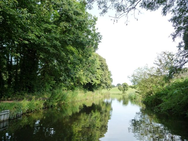 The Stourbridge canal, near Bellsmill