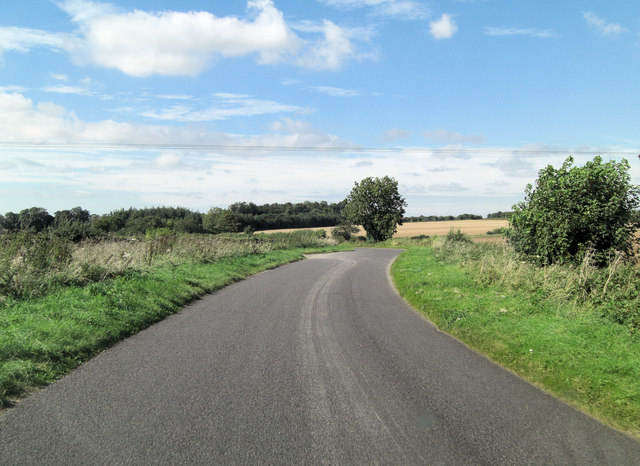 The Salt Way west of Keeble Barn