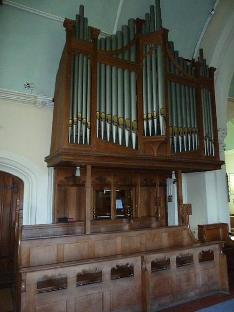 St Mary, St Cuthberga and All Saints, Witchampton- organ