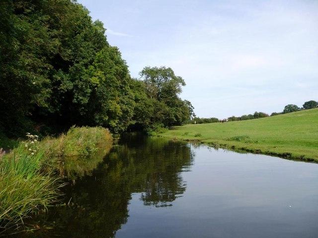 The Stourbridge canal, east of Bellsmill