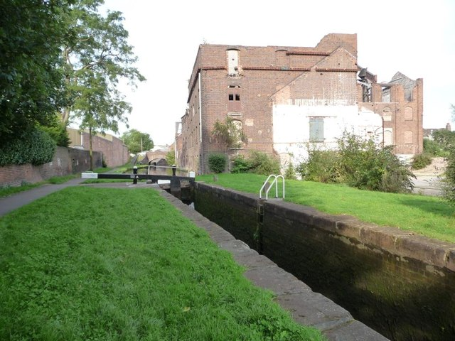 Lock 13, Stourbridge canal
