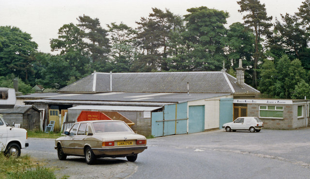 Former Cults station, 1988