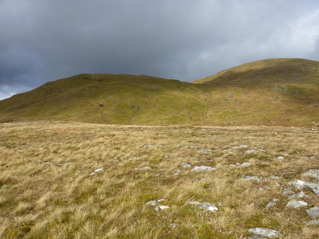 From Meall Garbh to Carn Gorm