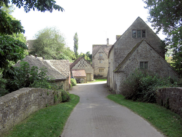 Bibury Mill and attendant buildings