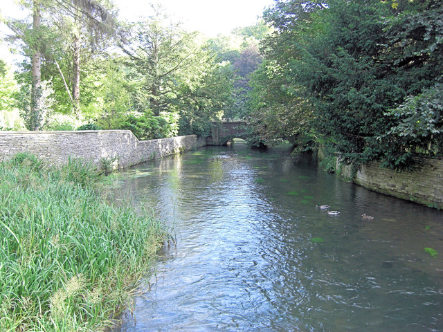 River Coln southwest of Ablington Manor
