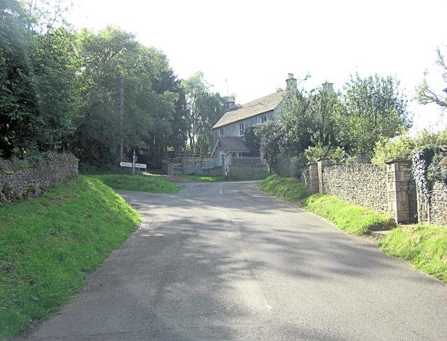 T-junction west of Ablington