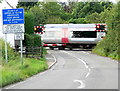 SK7118 : Level crossing on Station Lane by Mat Fascione