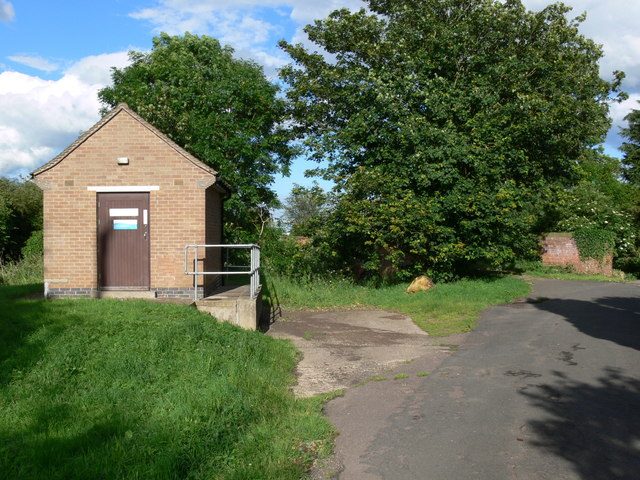 Pumping station on Washdyke Lane