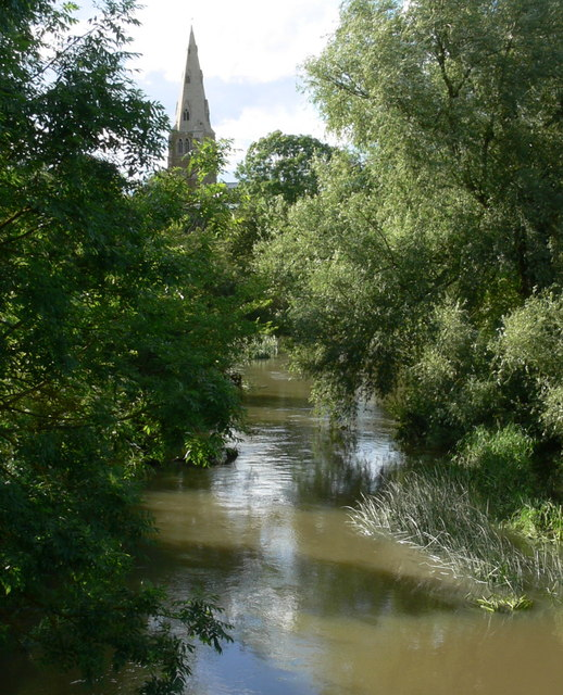 River Wreake in Kirby Bellars