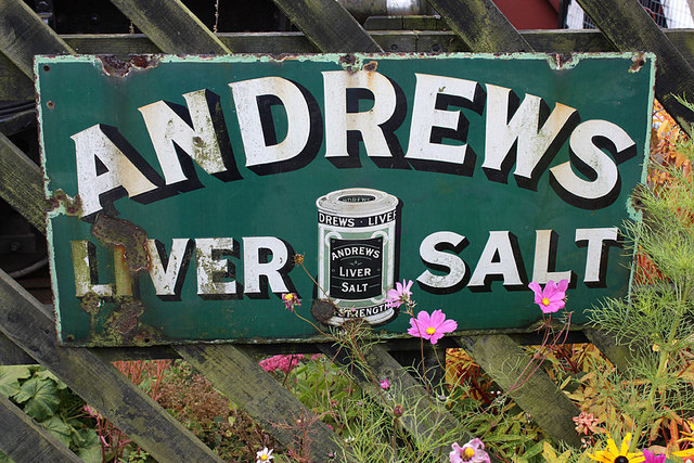 Enamel advertising sign, Goathland station