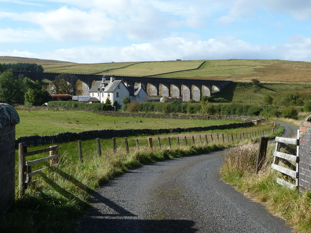 Shankend Farm and Viaduct