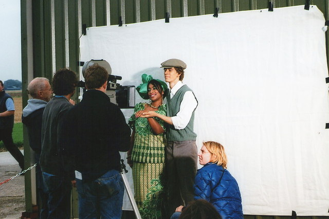 "Strubby airfield: filming ""The Pond"", 2005"