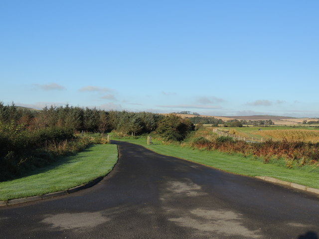 Entrance to Culmore Bridge Holiday Cottages
