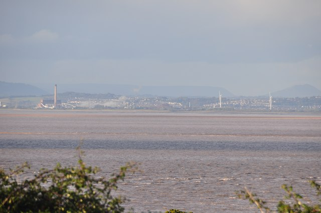 North Somerset : Bristol Channel & Welsh Coastline