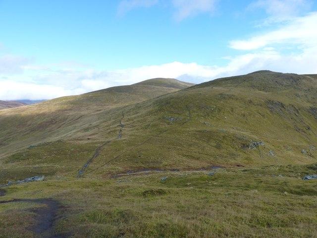 The bealach west of An Sgorr