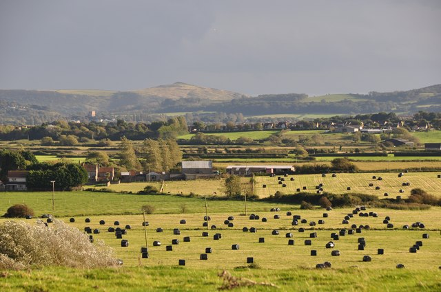 North Somerset : Countryside & Farmland Scenery