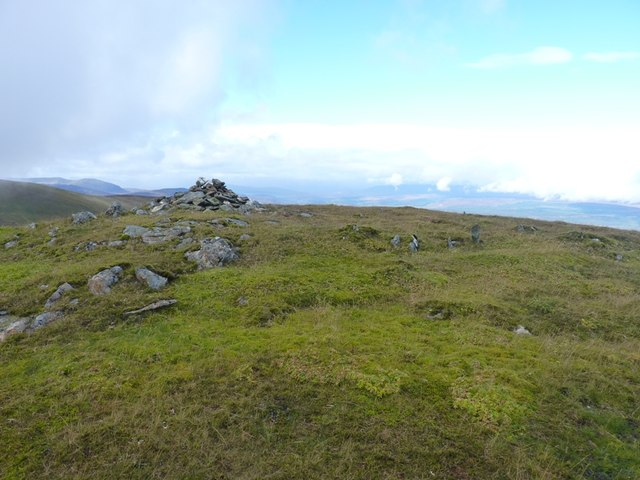 Summit cairn, An Sgorr