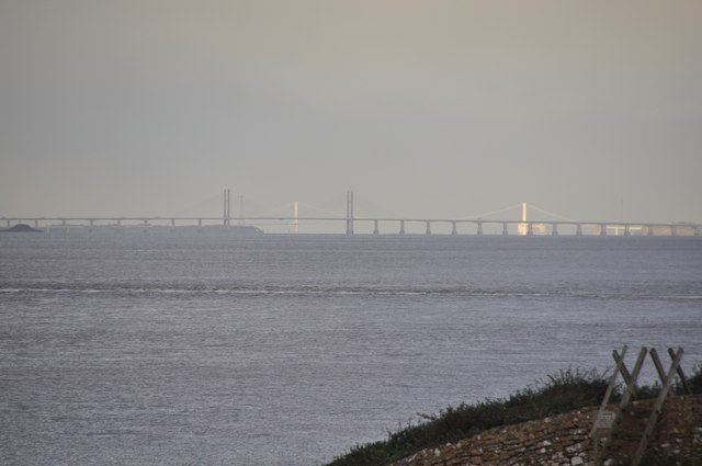 North Somerset : Bristol Channel & Severn Bridge