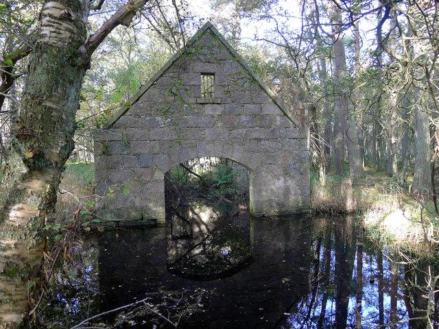 Loch of Skene Boathouse