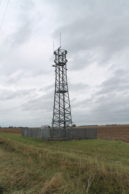 Communications Mast on Sidebar Lane