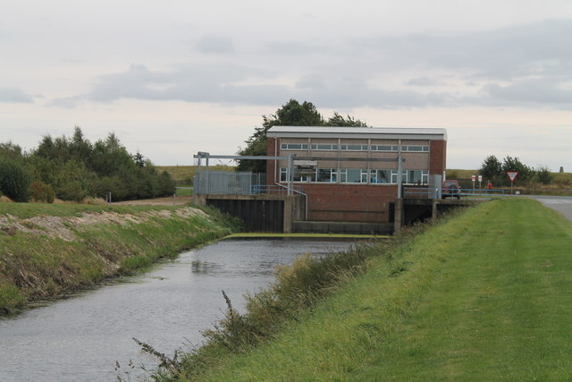 Holland Fen Pumping station