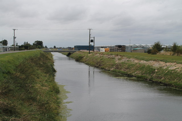 Clay Dyke from the Holland fen Pumping station