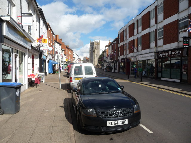 Part of the High Street, Alcester