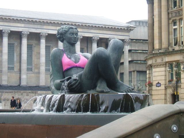 Pink Floozie in Victoria Square