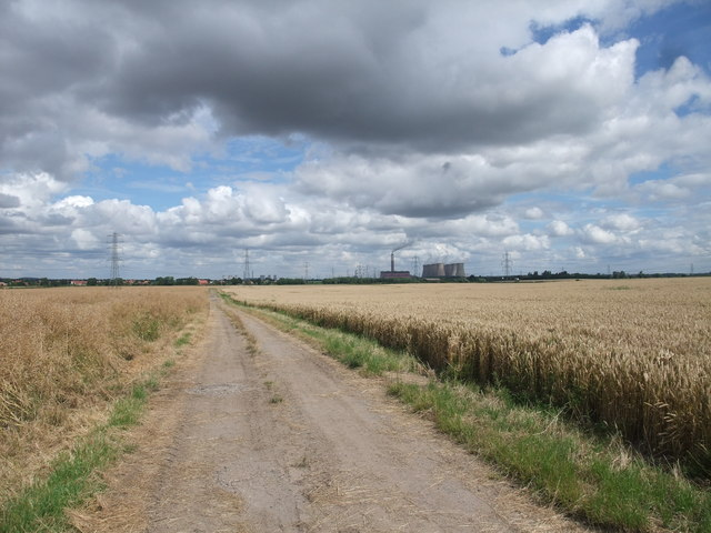 The Trent Valley Way on Chequers Lane