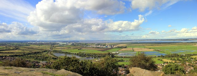 Helsby Hill Panorama