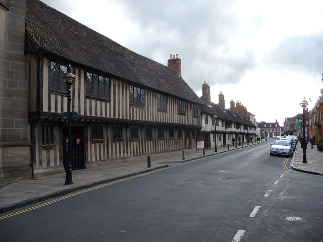 Part of Church Street, Stratford-upon-Avon