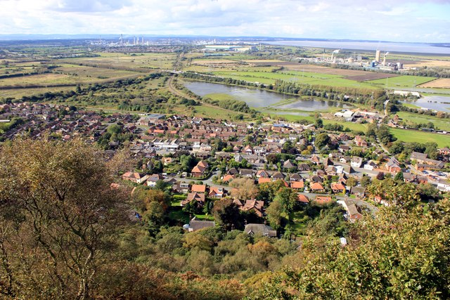 Helsby from Helsby Hill