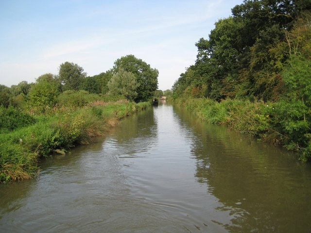 Grand Union Canal: Reach near Wolfhampcote