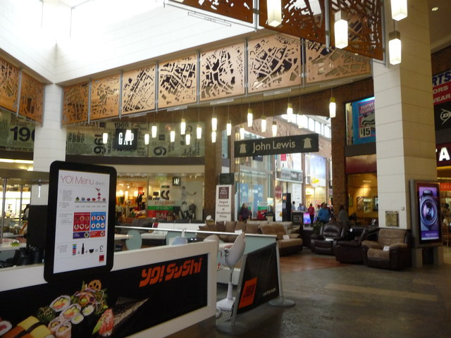Inside Touchwood Shopping Centre, Solihull