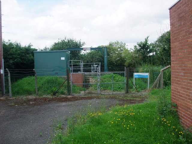 Sewage pumping station, Church Laneham