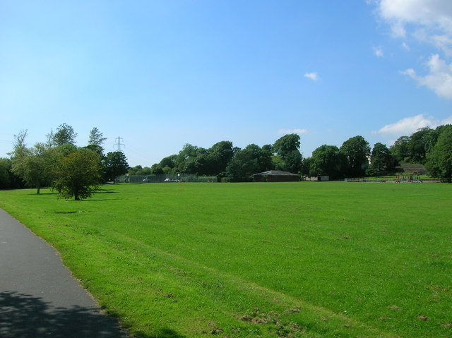 Playing fields Parc Williams, Loughor