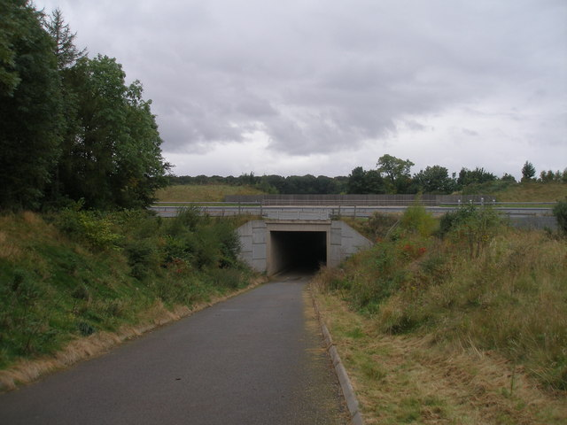 Motorway underpass at Castle Hills