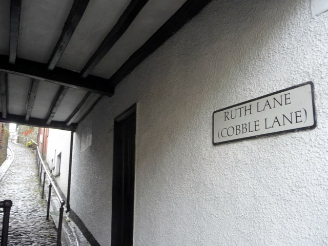Ruth Lane (formerly Cobble Lane), Builth Wells, Powys