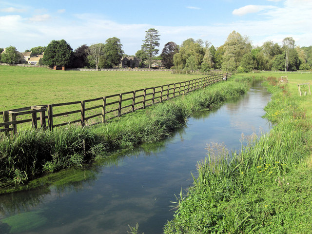 River Coln at Coln Rogers