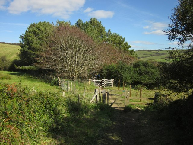 Coast path west of Seatown