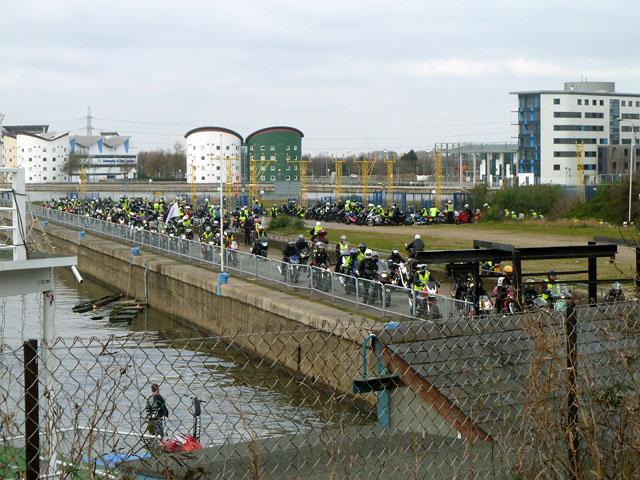 Motor bike rally