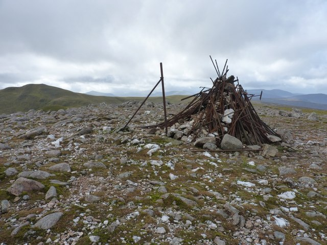 Not so much a summit cairn now