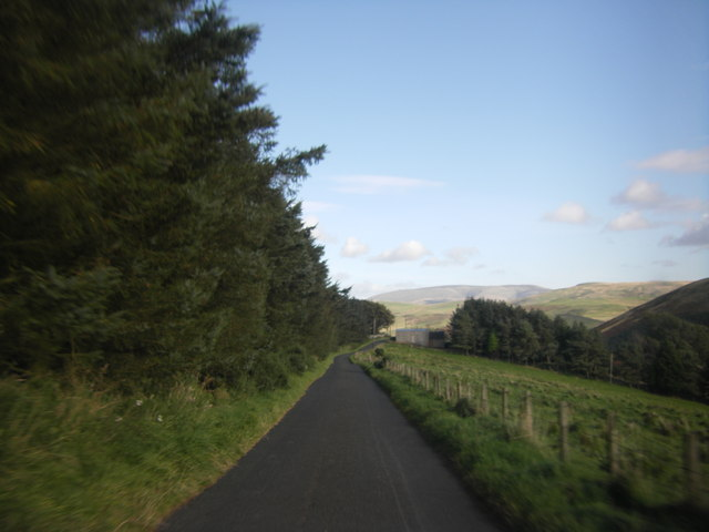 Roman Road near Nickie's Ha