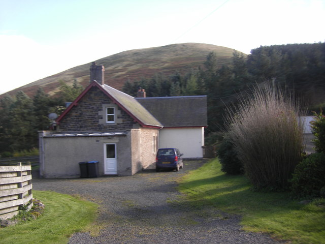 House below Thowliestane Hill