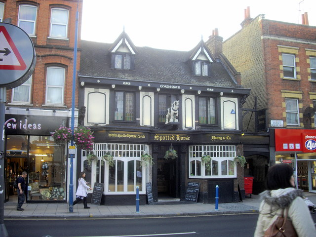 Image result for THE SPOTTED HORSE PUB UK PUTNEY