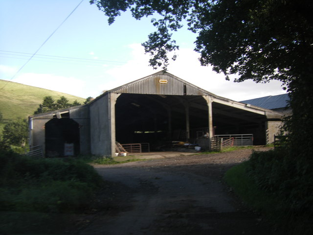 Farm buildings at Sharplaw