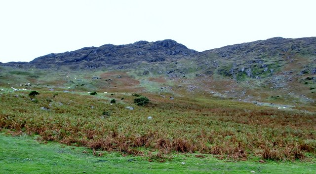 The south-eastern slopes of Slieve Foye